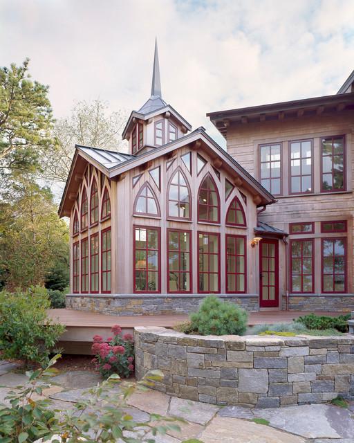 Outdoor Living eclectic-exterior