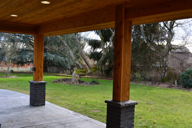 Outdoor Living Space Covered Porch Alternative 97006