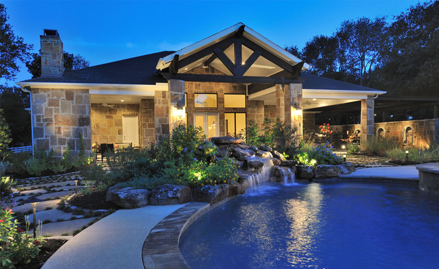 Outdoor Oasis traditional-exterior