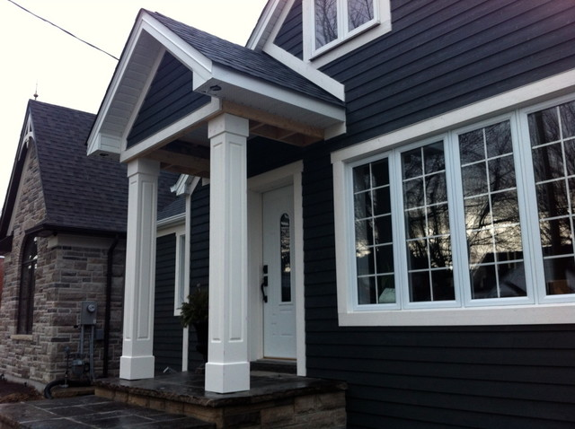 traditional exterior by KURT WINN Custom Contracting