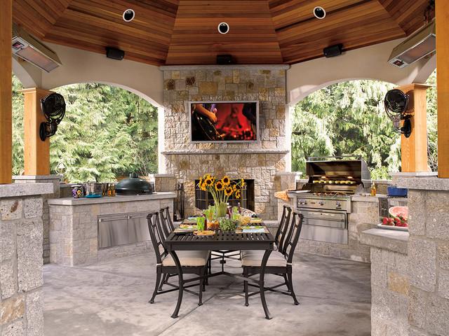 Outdoor Spaces Craftsman Exterior By Magnolia Design Center