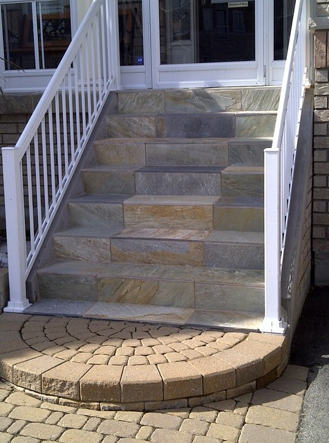 Outdoor Stairs Contemporary Exterior Toronto by Caledon