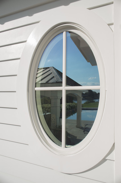 Oval Window Traditional Exterior Baltimore By