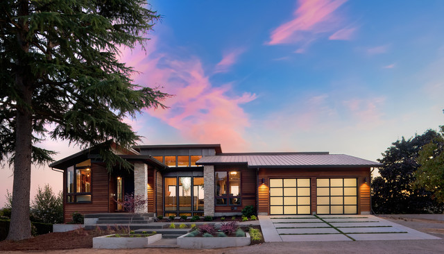 Overlook Show Home Contemporary Exterior Portland