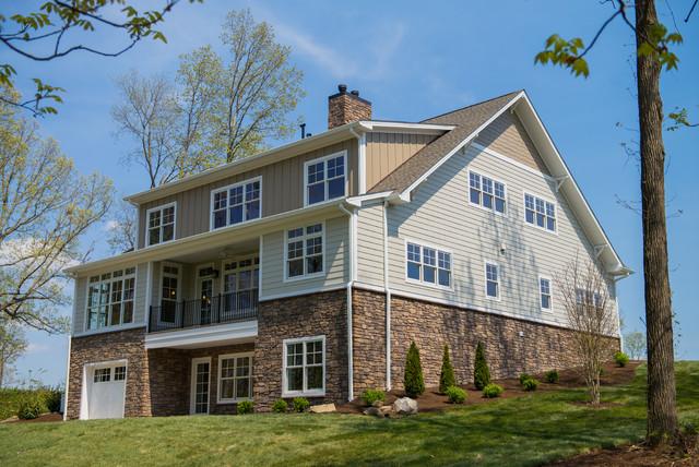 Owen Custom Home traditional-exterior