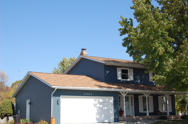 Bennett Roofing Owens Corning Duration Desert Tan In Valparaiso In Traditional Exterior