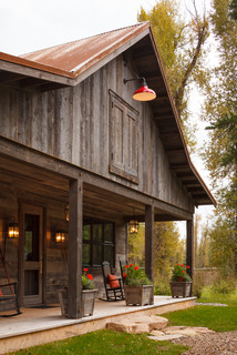 Owl Ditch Ranch Quot Barn Quot Rustic Exterior Salt Lake