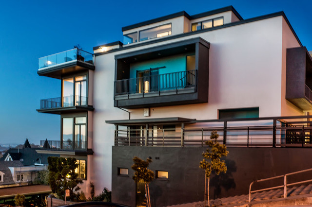 Pacific Heights Penthouse And Exterior Remodel