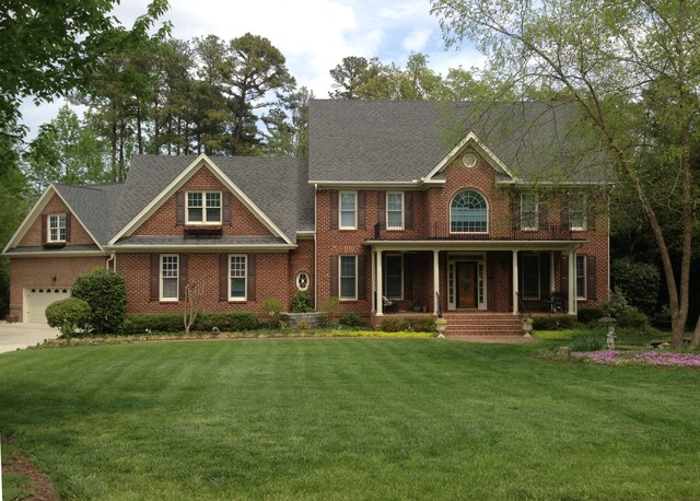 Paint traditional exterior raleigh by town country realty inc - Exterior painting raleigh nc concept ...