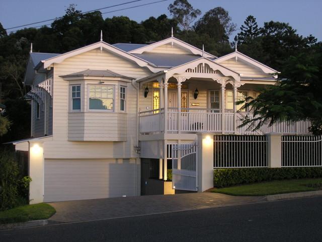 Paling Ave Rebuild Traditional Exterior Brisbane