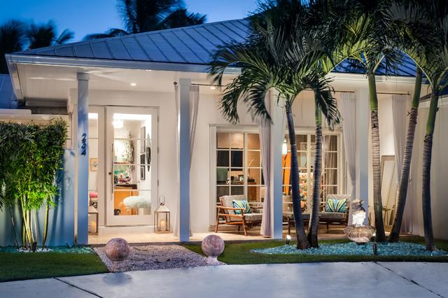 Palm Beach Bungalow Modern Haeuser