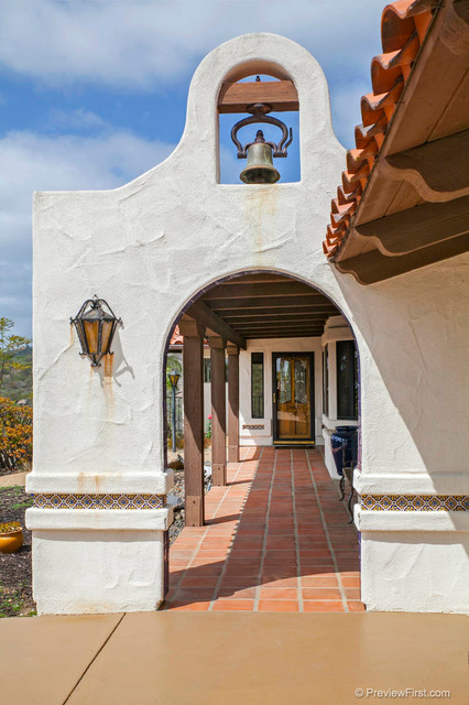 Palm Hill Mission Style Revival Mediterranean Exterior