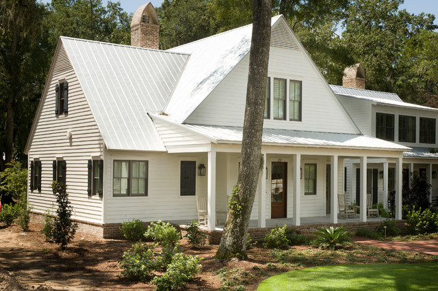 Palmetto bluff cottages traditional exterior Custom cottage homes