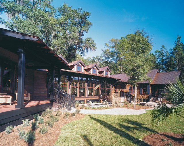 PALMETTO BLUFF- Tree House traditional-exterior
