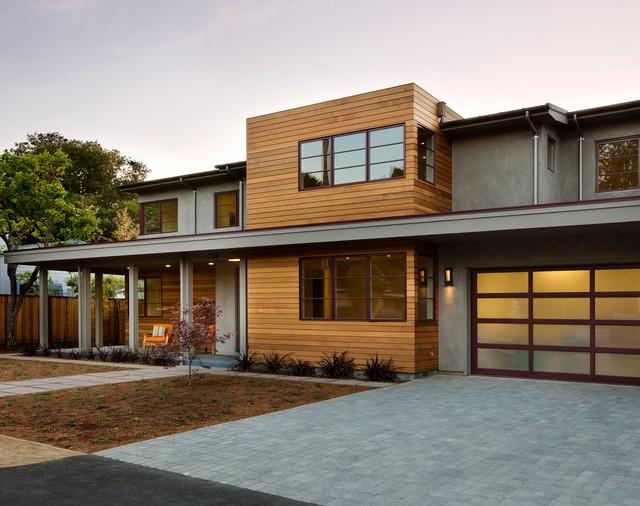 Palo alto modern modern exterior san francisco by for Alto design architects