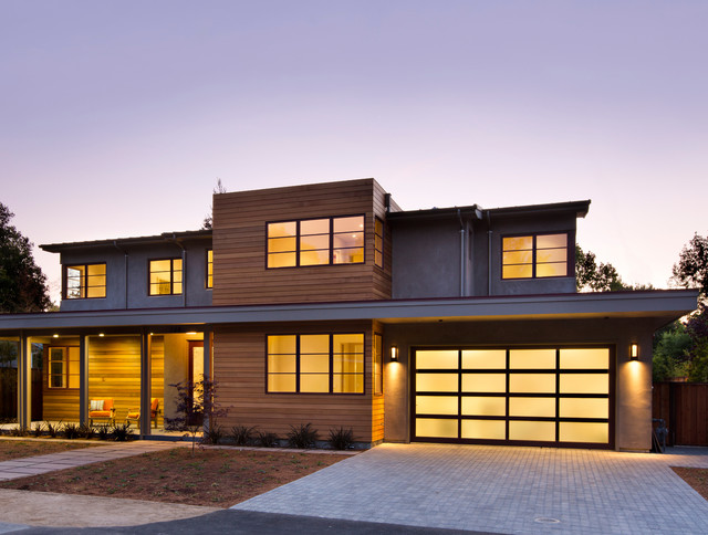 Palo alto modern modern exterior san francisco by for Modern homes san francisco