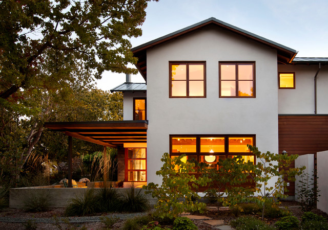 contemporary exterior by Arcanum Architecture