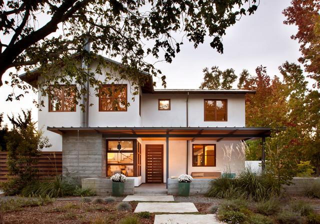 Palo Alto Residence transitional-exterior