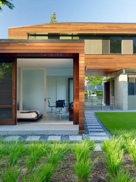 Palo Alto Residence modern-exterior