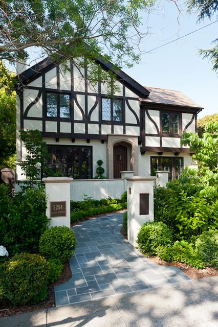 Palo Alto Tudor traditional-exterior