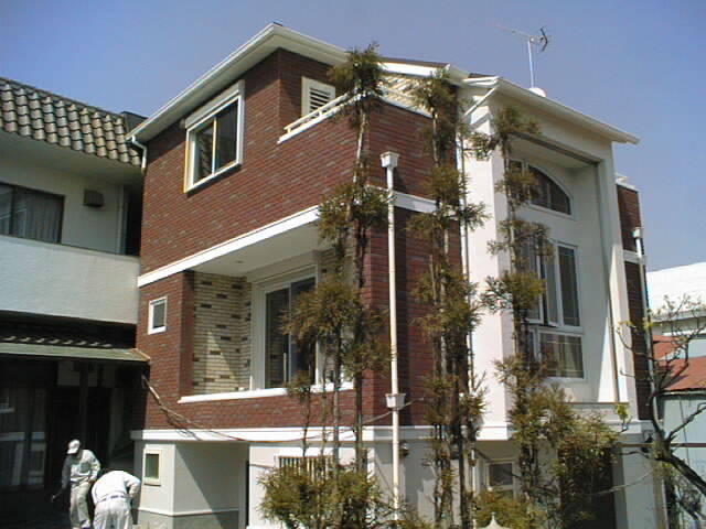 Pan Brick On Home In Japan Traditional Exterior