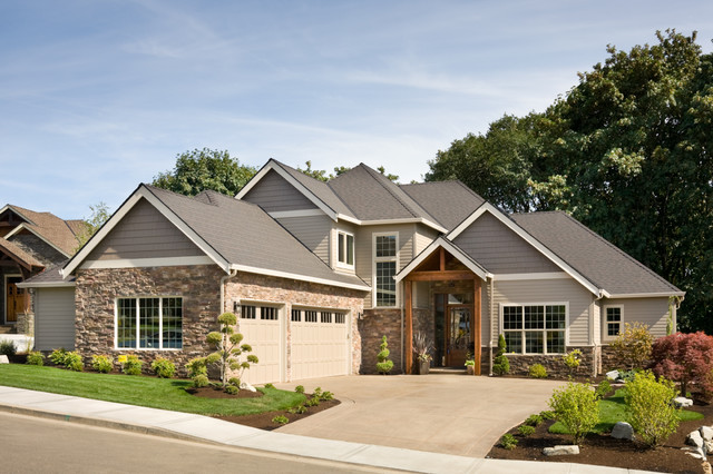 Parade Of Homes Craftsman House Plan With Two Master