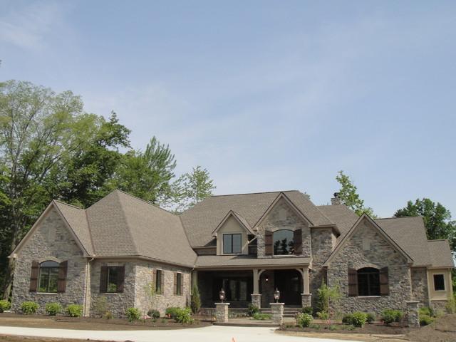 Parade of Homes Model 2011 modern-exterior