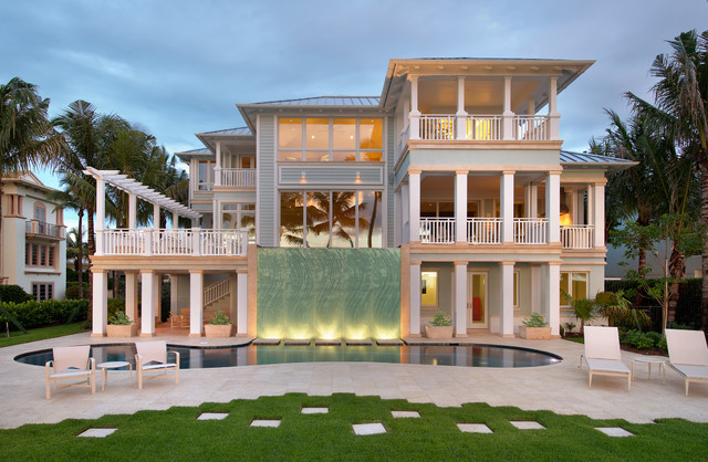 Paradise at the Pier - Beach Style - Exterior - miami - by Stofft Cooney Architects
