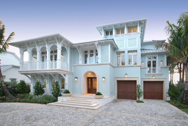 Paradise at the pier beach style exterior miami by for Beach style house exterior