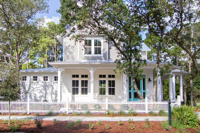Paradise Key South Beach Victorian Exterior Jacksonville By Glenn Layton Homes