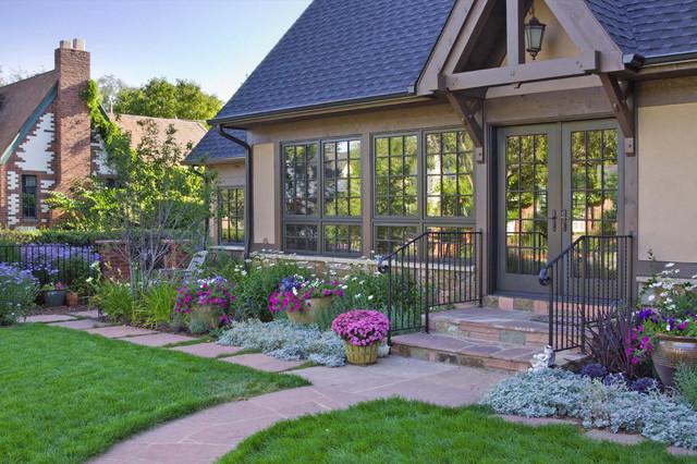 Park Hill Garden traditional-exterior