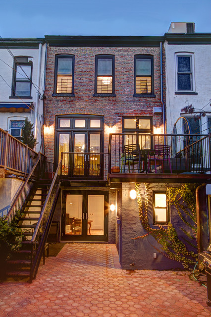 Park Slope Brownstone - Traditional - Exterior - new york ...