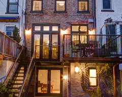 Park Slope Brownstone traditional-exterior