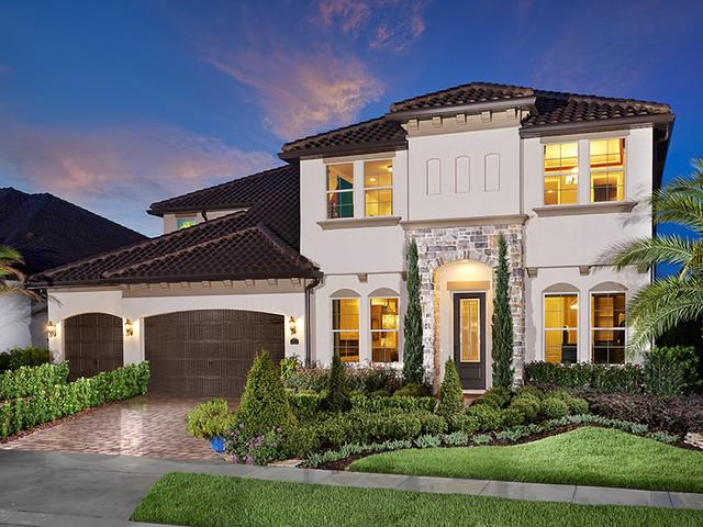 Parkside orlando fl contemporary exterior orlando for New modern homes orlando