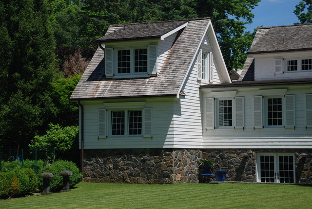 Dated Colonial Gets Makeover Rye Ny Traditional
