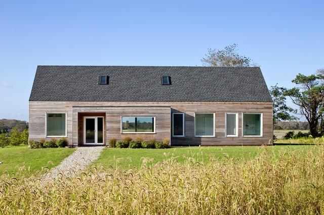 Passive House Retreat transitional-exterior
