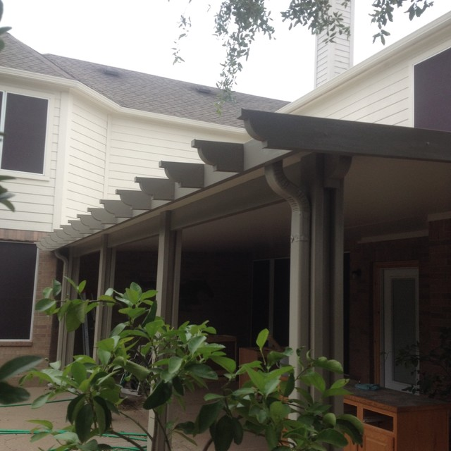 Patio Covers & Awnings traditional-exterior