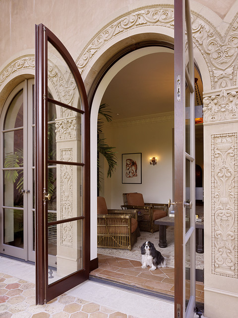 Patio Doors Mediterranean Exterior San Francisco By Alderson Construction