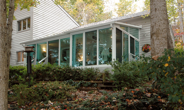 patio enclosures sunrooms traditional exterior