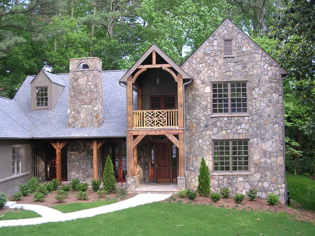 Peachtree Park traditional exterior