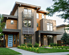 Pearl Street Duplex Residence contemporary-exterior