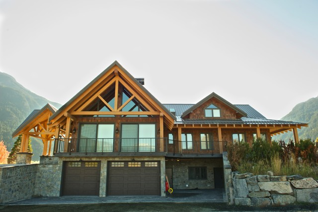Pemberton Timber Frame Home Traditional Exterior