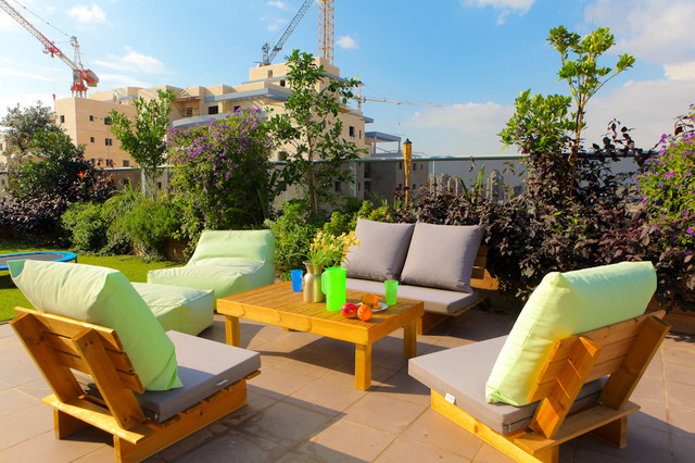 Penthouse Apartment Em Hamoshavot Modern Exterior Tel Aviv By Sk Designers Shimrit