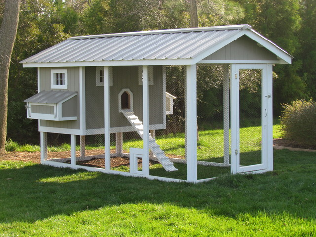 Penthouse Chicken Coop Craftsman Exterior Other By