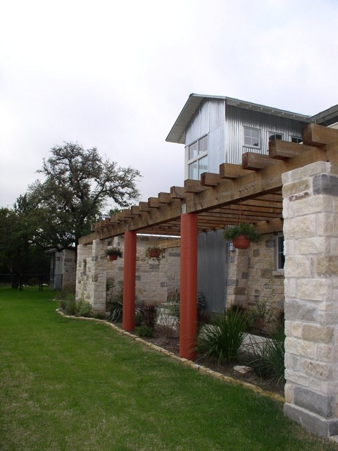Pergola and Stair Tower contemporary exterior