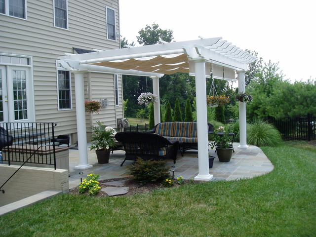 Pergola Gazebo Traditional Exterior Baltimore By
