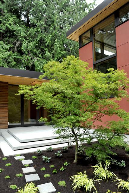 Perilstein Residence - Bainbridge Island Architect Coates Design contemporary-exterior