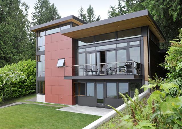 Perilstein Residence - Bainbridge Island Architect Coates Design modern-exterior
