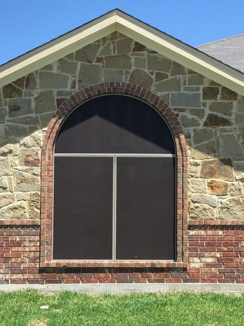 Phifer suntex solar screens traditional exterior other by gallery design center for Exterior solar screens for windows