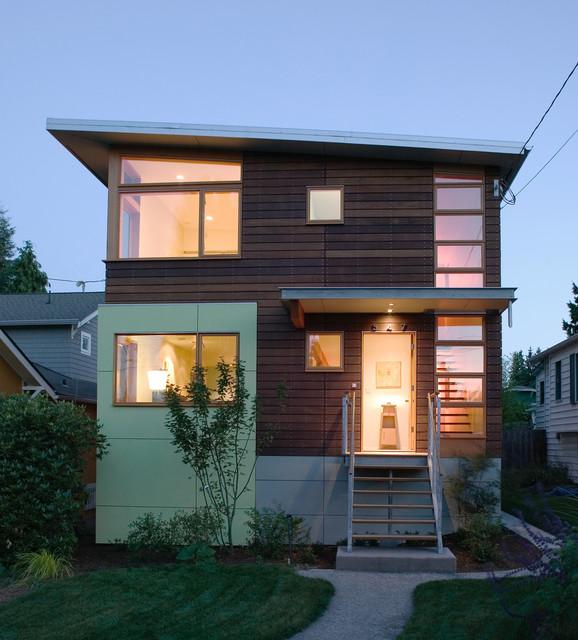 Modern House Design Houzz: Phinney Ridge House 2
